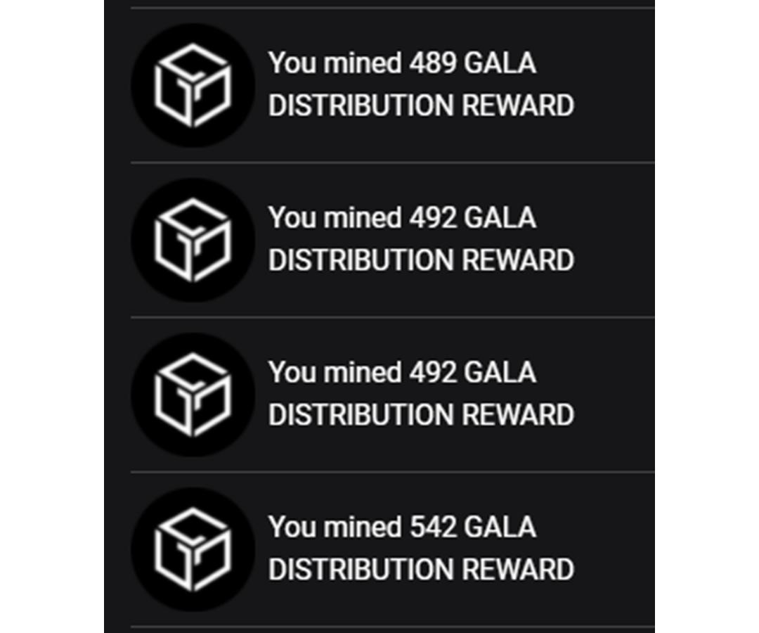 gala node earnings